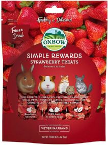 Oxbow Rewards - Strawberry Treats